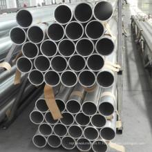 Tuyau rond en alliage d'aluminium de 6060 T6 pour le récipient à pression