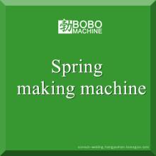 Spring coiling machine spring making machine manufacture