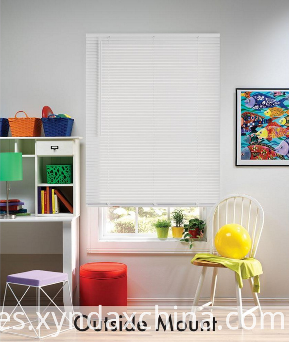 1inch Miny White Blinds