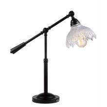 Adjustable Glass Shade Bedroom Table Light (MT4232A)
