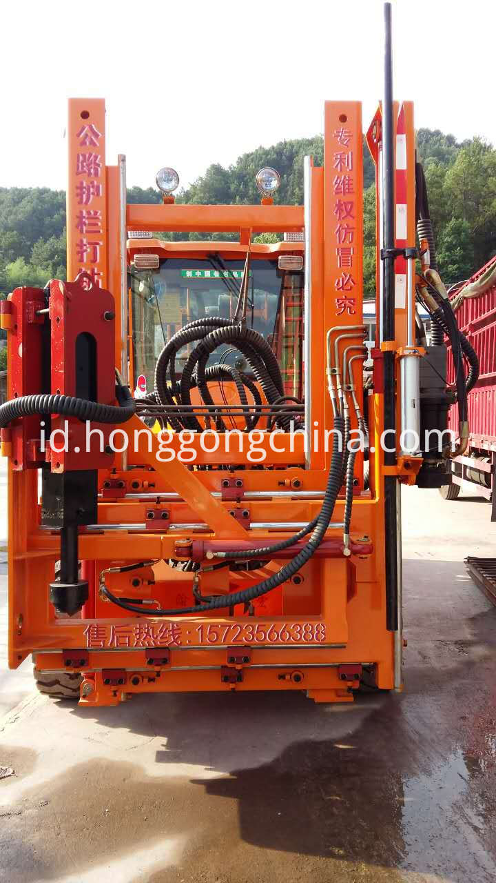 Road Drilling Machine for Highway Guardrail