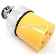 ASP-1175 Electrical Outlet Round Femeal 3 Connectors