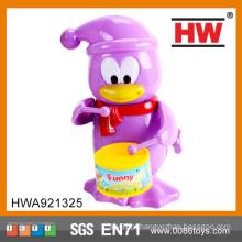 Plástico engraçado acima da importação dos brinquedos do pinguim de China