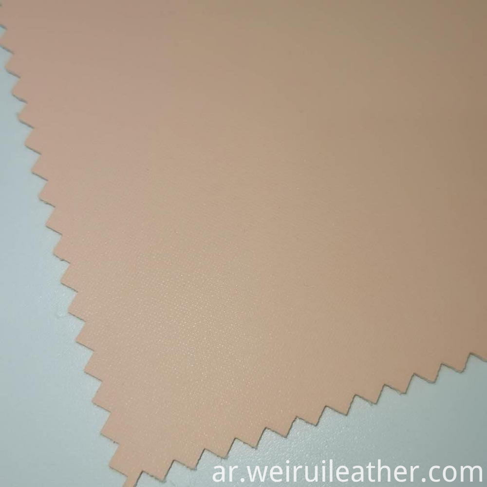 Skin Pink Pvc Leather