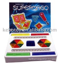 Brinquedo educativo brinquedo magnético blocos magnéticos bloco de construção magnético