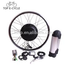 Kit de conversion de vélo électrique de moteur de moyeu de 500W bafang avec la batterie de tube vers le bas