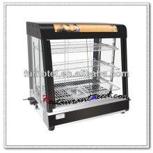 K428 Luxuriöser Gegenoberseiten-elektrischer Nahrungsmittelanzeigen-Wärmer