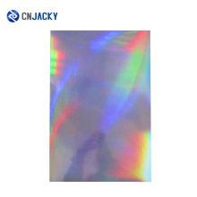 Custom Hologram PVC Overlays Lamination Overlays Film