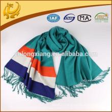 Factory Wholesale Real 100% Viscose Material Plain Pashmina Shawl
