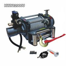 Cabrestante de remolque hidráulico de 12000 lb que incluye válvula eléctrica