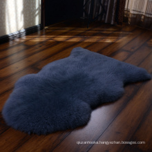 dyed color flurry area rugs long haired sheepskin rugs