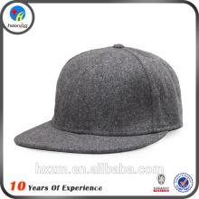 2016 design blank wool snapback cap