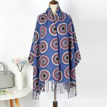New Arrival Women Fashion Printed Soft Cashmere Feeling Warm Wraps Shawl Muslim Ladies Hijab Scarf