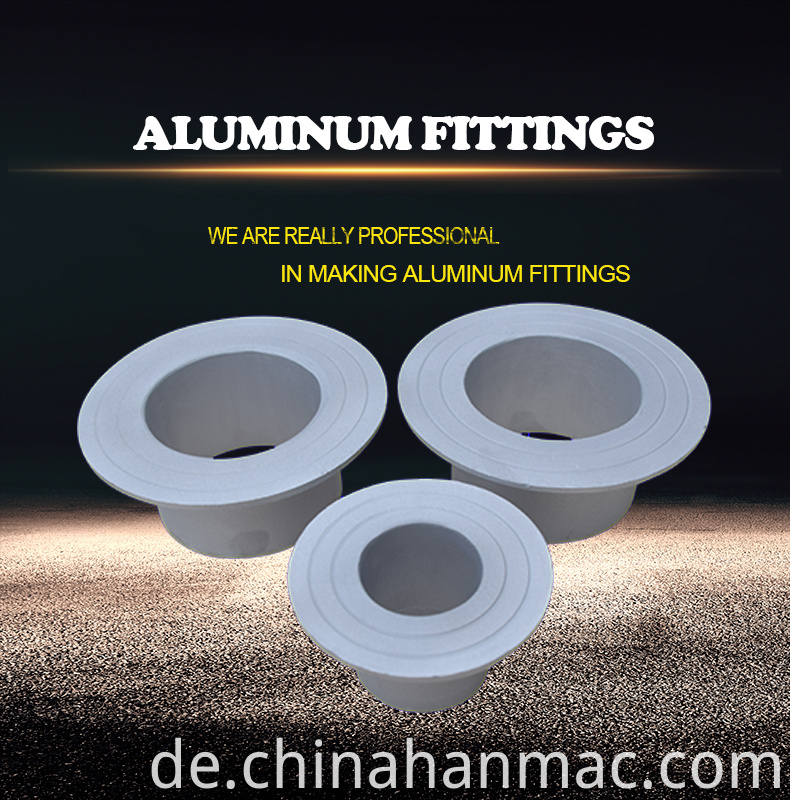 aluminum stub end fitting