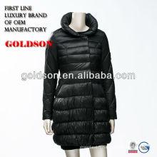 Manteau des femmes les plus longues d'hiver avec OEM produisant pour le Japon