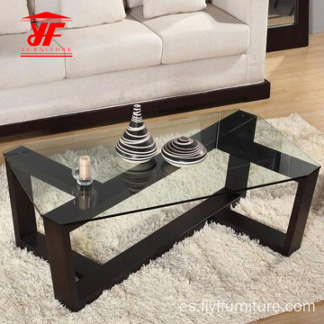 Glass Top Designs Center Table en línea
