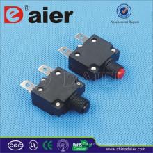 Daier Mini Rocker Tipo ST-1 Vermelho / Preto Botão 32VDC Com Disjuntor De Baixo Preço