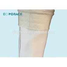 Sac de filtre en fibre de verre avec membrane à PTFE
