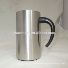 modern wholesale easy to go metal cups with handles