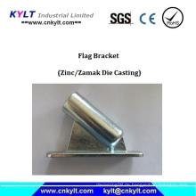 Galvanisierender Druckguss-Markierungsfahnen-Halter / Haltewinkel / Einfaßung
