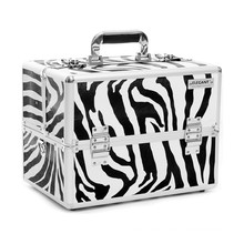 Zebra Panel Aluminium Kosmetiktasche (HX-L0925)