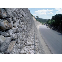 Hot-DIP Galvanized Low Carbon Steel Wire Gabion Box