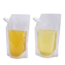 Plastic Reusable Spout Water Pouch Bag