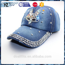 jewish diamond with lemmy cowboy customized logo baseball cap made in china