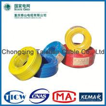 Profesional Cable fábrica de alimentación de caucho de silicona aislado alambre eléctrico