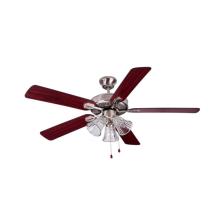 Ventilateur de plafond à cinq pales avec lumière
