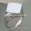 Blume Modellierung Design Schmuck Opal Ring