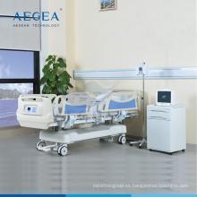 AG-BY009 Pesaje CPR cama de hospital centralizada multifunción para pacientes