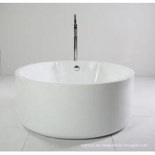 Runde Kleine Acryl Freistehende Badewanne