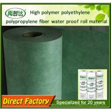 Membranes imperméabilisantes d'imperméabilisation de polymère de polyéthylène de sorties d'usine amicales d'usine