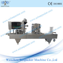 Green Tea Digital Control Liquid Plastic Cup Sealling Machine