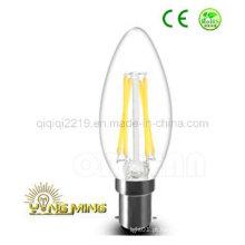 Bulbo do filamento do diodo emissor de luz do dimmable de C35 3.5W B15