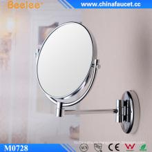 Espejo de pared de aumento plegable de doble cara Beelee