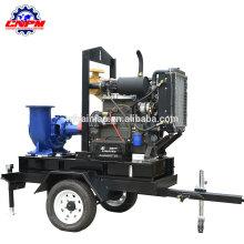 Zweirad Anhänger Dieselmotor Wasserpumpe Bewässerung