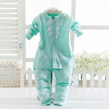 Оптовая высокое качество хлопок детские костюмы для девочек.