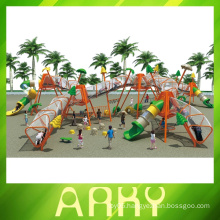 Children Happy Outdoor Fitness Sports Climbing Playground