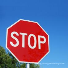 Automatisches warnendes Brett / Verkehrs-Warnzeichen führte Stoppschild-Sicherheits-Karte