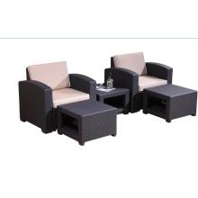 New Design Outdoor Waterproof Patio Plastic Sofa