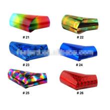 Livraison gratuite 10 Rolls Mix Colors nail transfer foil / Nail Art Transfer Foil # 2301