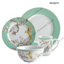 Ensemble de dîner en porcelaine Ensemble de 4