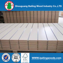 Slatwall / Laminated Slatwall / Colored Slotted MDF