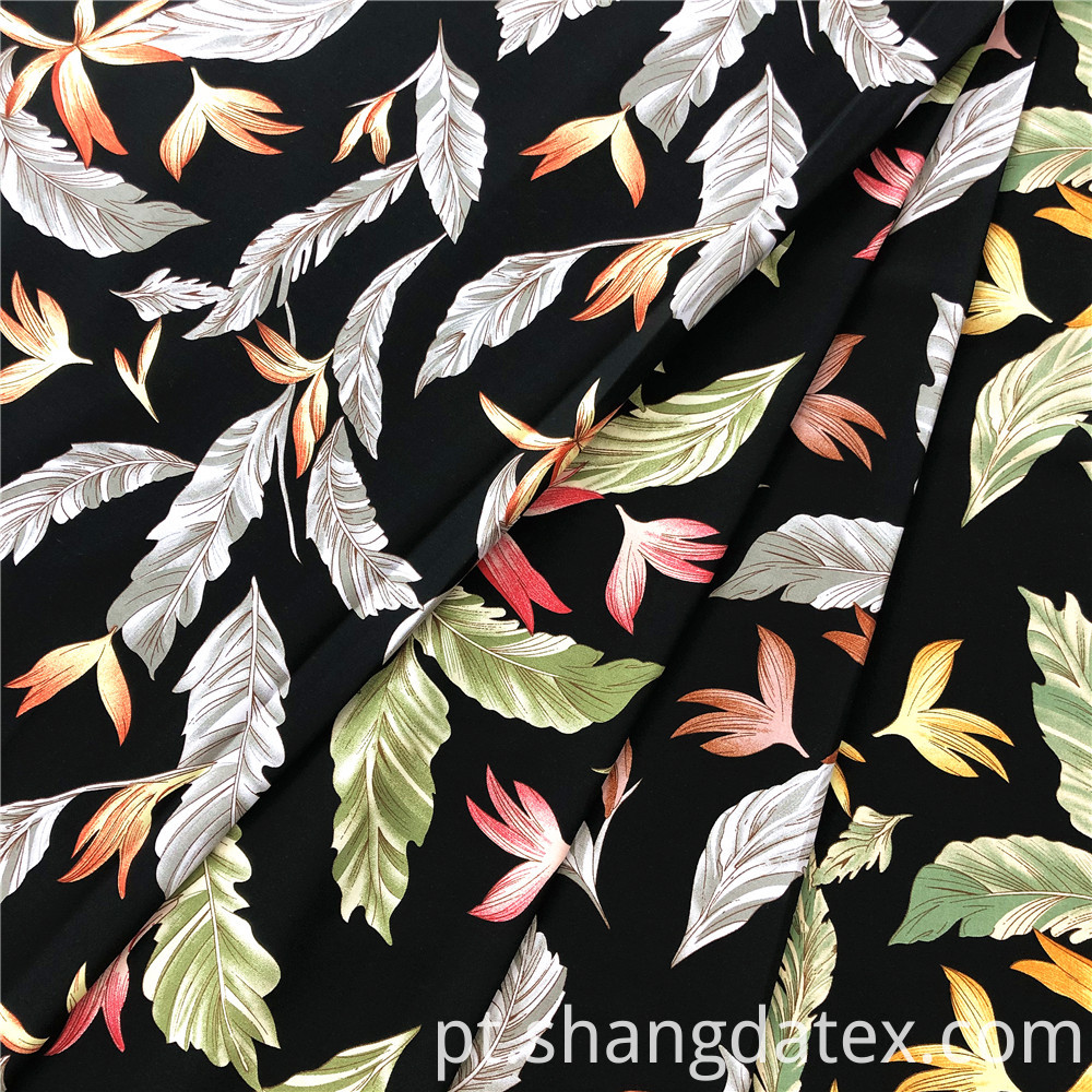 Good Quality Rayon Printed Fabrics