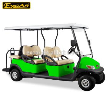 O CE aprovou o carrinho feito sob encomenda bonde do carro do golfe do carrinho de golfe elétrico de 6 assentos for sale