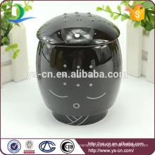 2015 Atacado Black Ceramic Creative Sami Cup