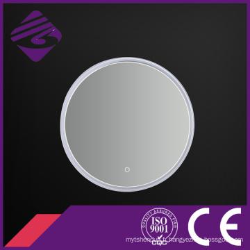 2016 nouveau rond écran tactile PVC cadre rétro-éclairé par LED