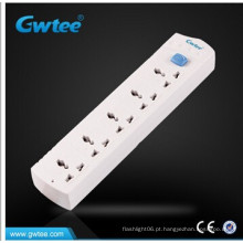 5 Gang Switched Universal Extensão Socket / Power Strip / tomada elétrica com cabo